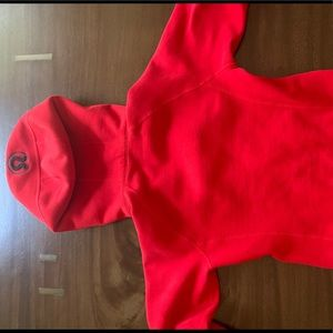 lululemon athletica Jackets & Coats - Lululemon Excellent Condition red Scuba Hoodie